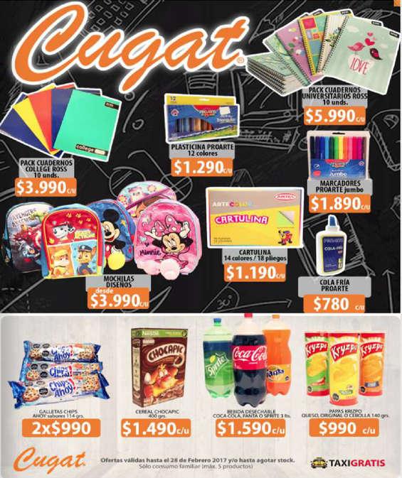 Ofertas de Cugat, nuevo catálogo