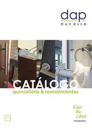 catálogo quincillería y revestimientos