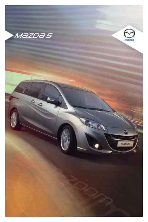 Ofertas de Mazda, mazda 5
