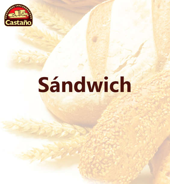 Ofertas de Castaño, Sándwich