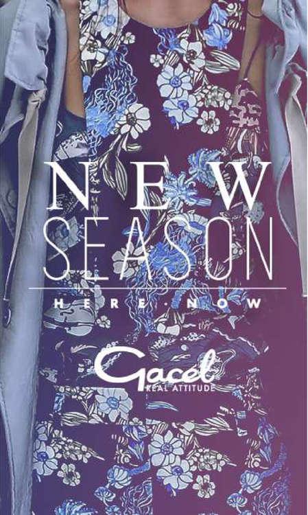 Ofertas de Gacel, new season