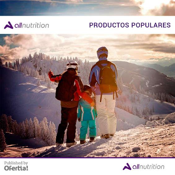 Ofertas de All Nutrition, productos populares