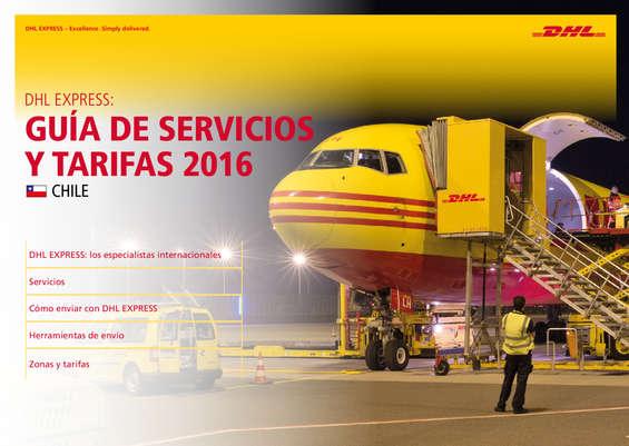 Ofertas de DHL, Guía de Servicios y Tarifas 2016