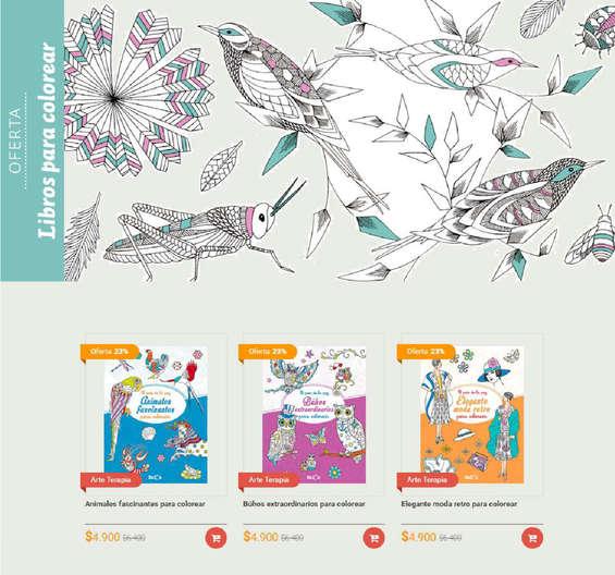 Ofertas de Contrapunto, libros para colorear