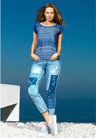 Ofertas de Tricot, jeans patch