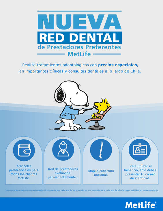 Ofertas de Metlife, Nueva Red Dental