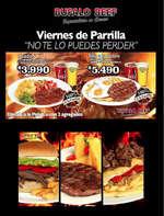 Ofertas de Bufalo Beef, promo bufalo