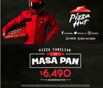 Ofertas de Pizza Hut, masa de pan