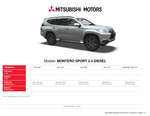 Ofertas de Mitsubishi, Mitsubishi montero sport 2.4 diesel