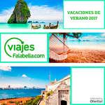 Ofertas de Viajes Falabella, vacaciones de verano 2017