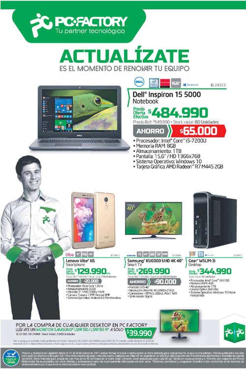 Ofertas de PC Factory, actualízate
