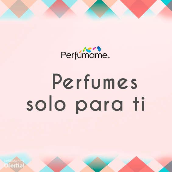 Ofertas de Perfumame, Perfumes sólo para ti