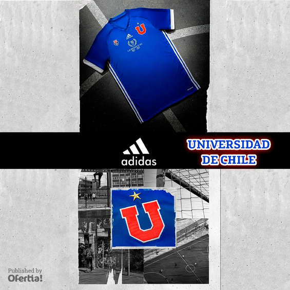 Ofertas de Adidas, universidad de chile 2017