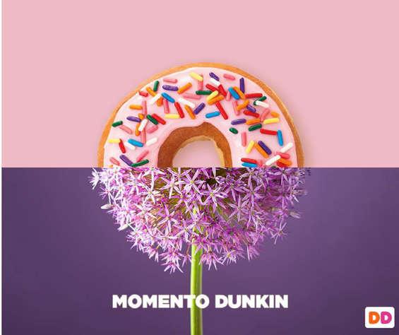 Ofertas de Dunkin Donuts, nuevo primaveral
