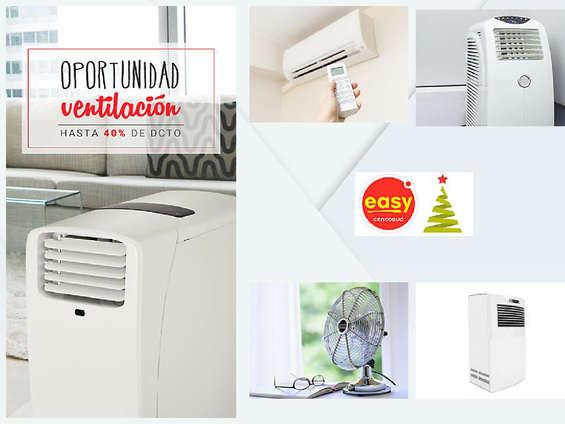 Ofertas de Easy, Oportunidad en ventiladores
