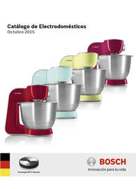 Catálogo Electrodomésticos