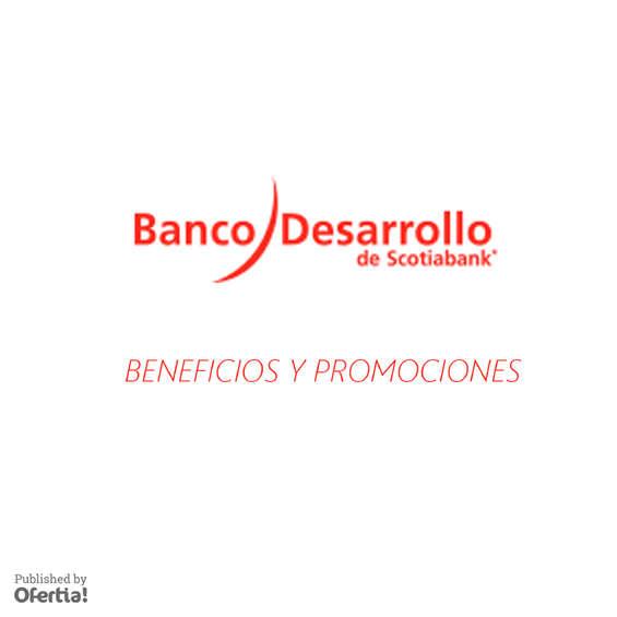 Ofertas de Banco del Desarrollo, beneficios y promociones