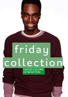 Ofertas de Benetton, friday collection