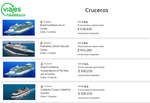 Ofertas de Viajes Falabella, Cruceros