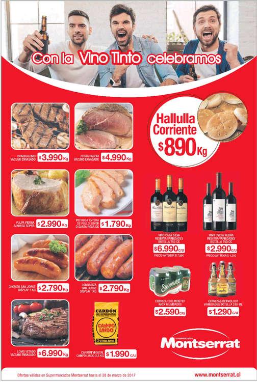 Ofertas de Supermercados Montserrat, montserrat