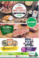 Ofertas de Jumbo, carnes vinos y quesos