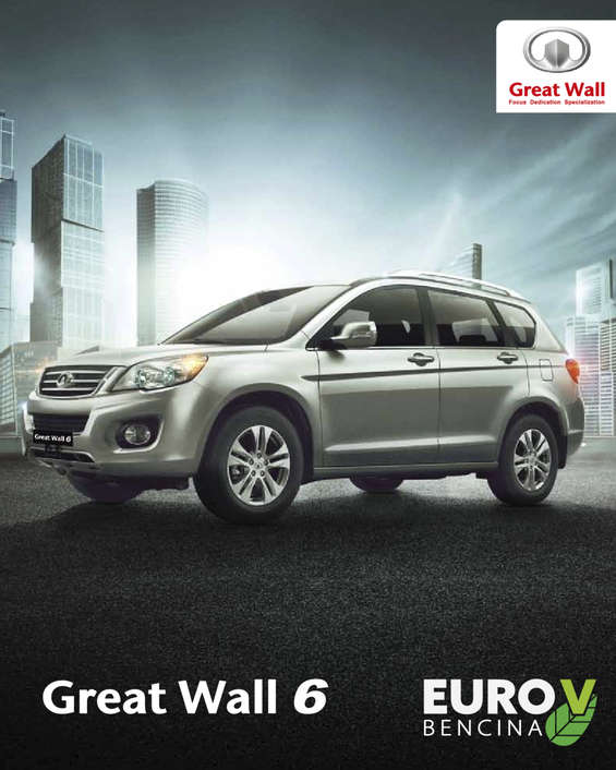 Ofertas de Great Wall, Great Wall 6 Bencina