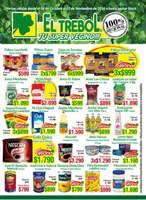 Ofertas de Supermercado El Trébol, 100 regional