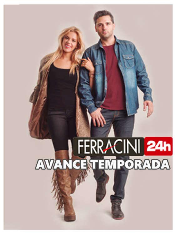 Ofertas de Ferracini, avance de temporada