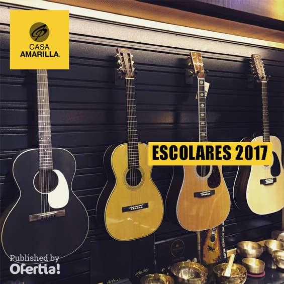 Ofertas de Casa Amarilla, escolares 2017
