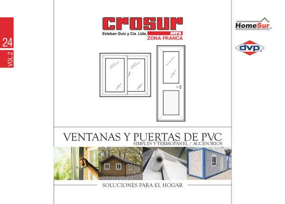 Ofertas de Crosur, ventanas y puertas de pvc