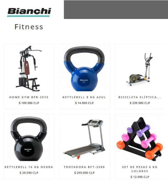 Ofertas de Bianchi, Fitness