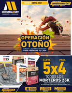 Ofertas de Construmart, Folleto abril
