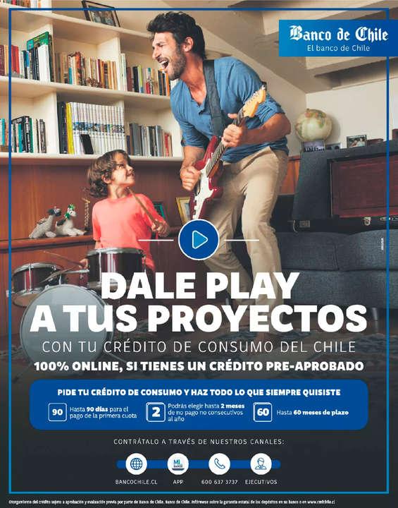 Ofertas de Banco de Chile, Crédito OnLine