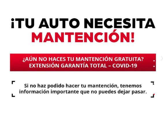 Ofertas de Honda, Mantención gratuita Honda