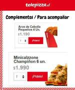 Ofertas de Telepizza, Para acompañar
