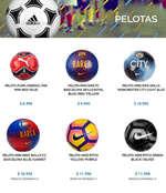 Ofertas de Belsport, Pelotas