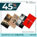 Ofertas de Librería Antártica, Hasta 45% de descuento