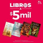 Ofertas de Librería Antártica, Libros a $5 mil