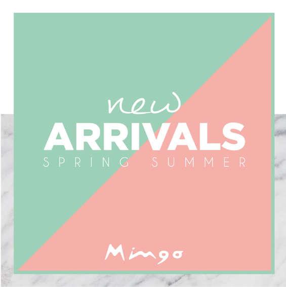 Ofertas de Mingo, New Arrivals