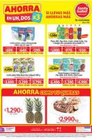 Ofertas de Santa Isabel, Ahorra en un, dos x3