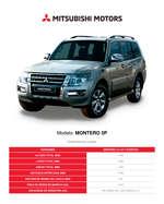 Ofertas de Mitsubishi, Montero 5P
