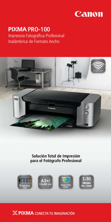 Ofertas de Canon Cámaras, PIXMA Pro100
