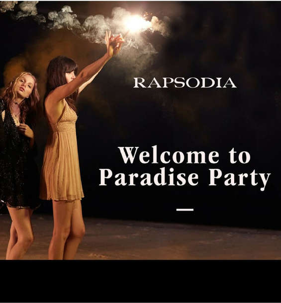 Ofertas de Rapsodia, Welcome to Paradise Party