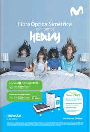 fibra óptica simétrica es internet heavy