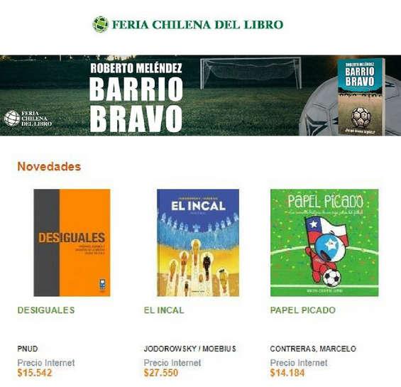 Ofertas de Feria Chilena del Libro, Novedades
