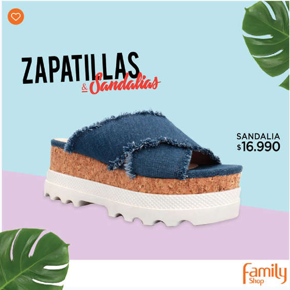 Ofertas de Family Shop, Zapatillas y sandalias