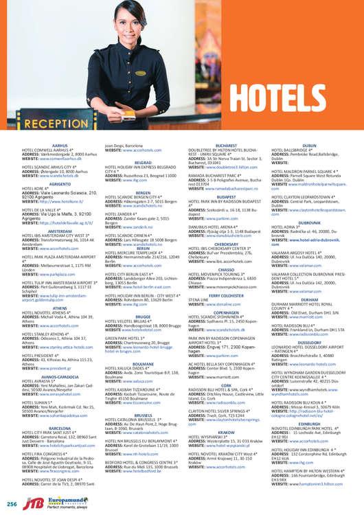 Ofertas de Europamundo, Hotels 2019