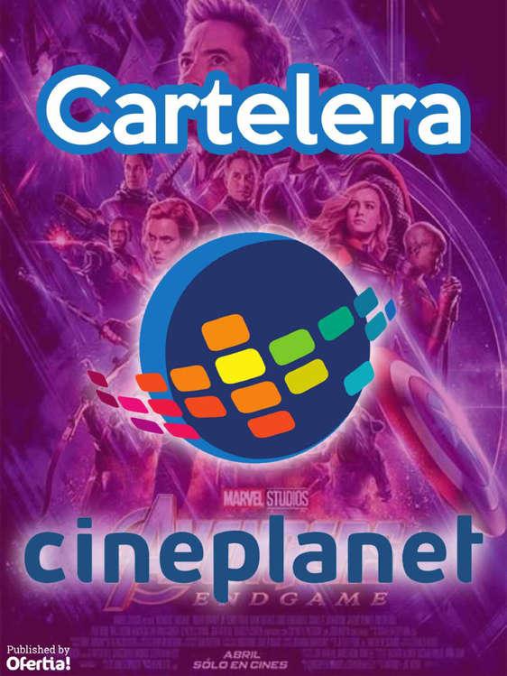 Ofertas de Cineplanet, Cartelera