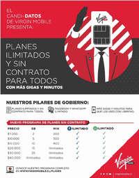 Planes ilimitados y sin contrato