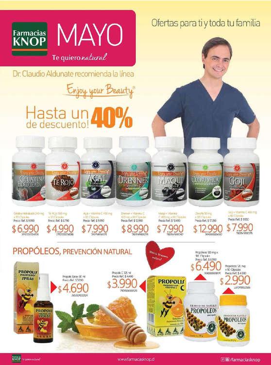 Ofertas de Farmacias Knop, Farmacias Knop mayo